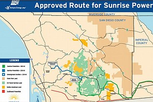 Tease photo for US Forest Service Approves SDG&E Sunrise Powerlink Through Cleveland National Forest