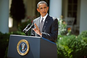Tease photo for Obama On Iraq: Not Quite 'Mission Accomplished'