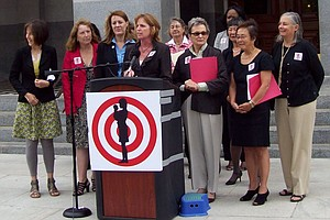 Female Legislators Oppose Budget Cuts To Women's And Chi...
