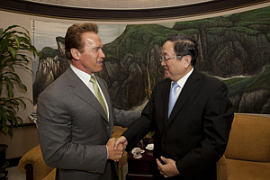 Schwarzenegger Says Calif. To Bid For 2020 World Expo