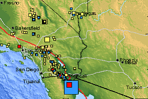 Tease photo for Moderate Earthquake In Baja Calif. Shakes San Diego