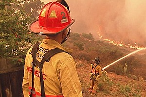 Tease photo for County Fire Plan Calls For Consolidating Agencies