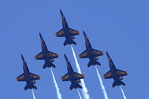 Events: Oktoberfest, Miramar Air Show, 'Road to Mecca'