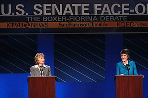 Tease photo for Political Analysis: The Boxer-Fiorina US Senate Race