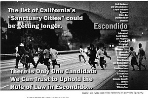 Tease photo for Controversial Mailer In Escondido Makes Immigration A Local Issue