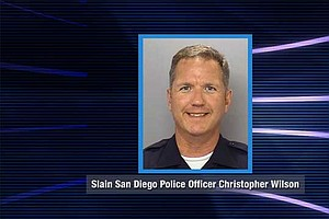 Tease photo for SD Mourns Police Officer Killed In The Line Of Duty