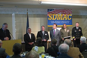 Tease photo for Governor Schwarzenegger Recognized By SDMAC