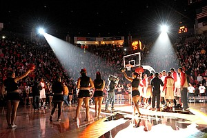 Tease photo for Buzz Almost Deafening For Aztec Basketball
