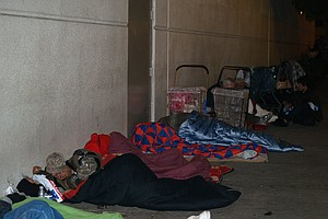 County's Homeless Population Grew Through 2010