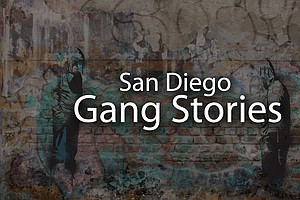 Tease photo for San Diego Gang Stories Retrospective