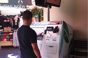 New ATM Cashes In On Old Cell Phones