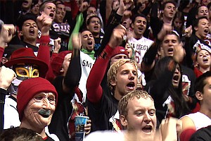 Tease photo for Aztec Fans Ready To Rock Viejas Arena For BYU Rematch
