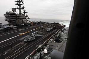 USS Ronald Reagan Crew Family Members Invited to Town Hal...