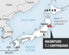 Major Quake Strikes Japan's Northern Coast Again
