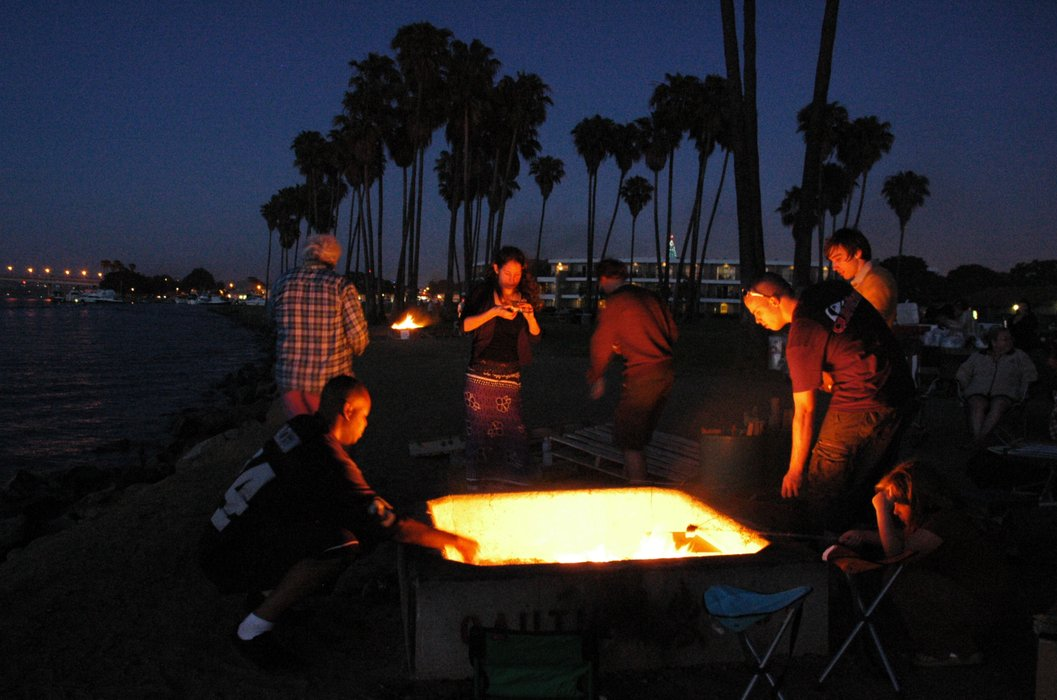 - Beach Fire Pits Saved For Another Year KPBS