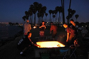 Beach Fire Pits Saved For Another Year