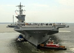 USS Carl Vinson Comes Home To San Diego