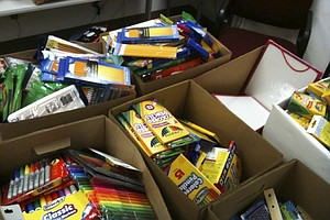 Project Aims To Provide School Supplies To Homeless Kids In SD