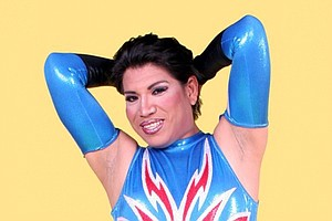 Tease photo for A Lucha Libre Gender-Bending Star