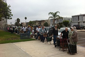 As Demand Skyrockets, Federal Aid Could Plummet For San D...