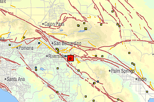 Tease photo for 4.1 Quake Near San Jacinto Fault Shakes San Diego County