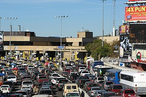 Tease photo for San Diego Border Crossing Collapse Snarls Traffic