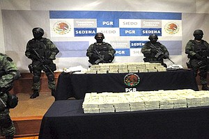 Tease photo for Millions Seized In Tijuana Said To Belong To Sinaloa Cartel