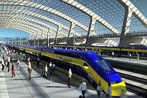 Tease photo for San Diego Assemblyman Calls High-Speed Rail A Fantasy Train