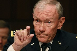 US Military Chief In Israel To Discuss Iran Nukes