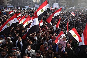 Tease photo for Egyptians Gather In Cairo To Mark Uprising