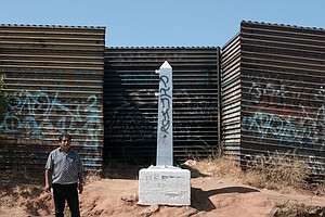 New Fences Block Access To U.S.-Mexico Border Monuments