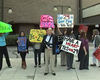 Proposition 29 Supporters Deliver Message To Big Tobacco