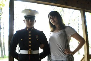 Tease photo for Not Guilty Plea From Marine Accused In Death Of Military Wife