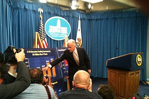 """Tease photo for Brown: """"Things That Are Good"""" Must Be Cut To Balance Calif. Budget"""