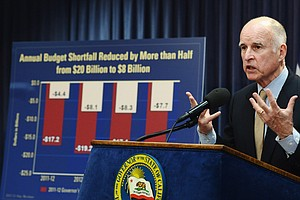Gov. Brown Lays Out Deeper Cuts As Projected Deficit Swel...