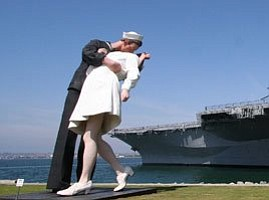 Tease photo for Port Says Kissing Statue To Be Removed Next Week