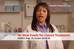 Tease photo for Are TV Ads About Proposition 29 To Increase Cigarette Taxes Accurate?