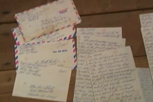 Letters Returned To Fallen Soldier's Family After Forty Y...