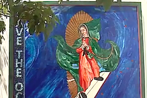 Surfing Madonna Finds New Home In Nearby Leucadia