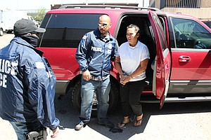 Tease photo for U.S. Officials Arrest Mexican Drug Cartel Operative Near Los Angeles