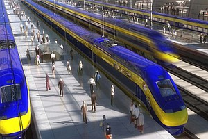 California Assembly Approves High-Speed Rail