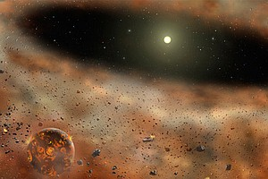 UCSD Astronomer Ponders Disappearing Space Dust