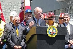 Brown Signs High-Speed Rail Funding Bill