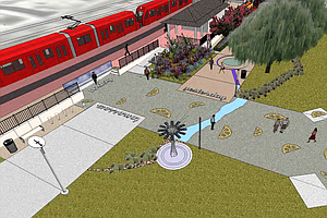 Tease photo for Lemon Grove Honors Past With New Downtown Promenade