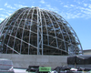 Construction Crews Put Dome On Central Library