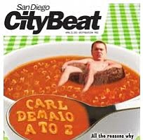 Tease photo for San Diego CityBeat: 10 Years Of Wit And Fury