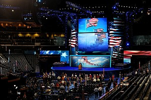 Tease photo for Pre-Convention Tussle: Are Americans Better Off?