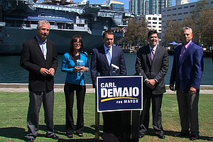 Tease photo for DeMaio Draws Support From The Middle