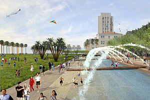 Tease photo for Groundbreaking For Waterfront Park Outside County Administration Building