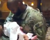 Coronado Sailor Meets Daughter For The First Time (Video)